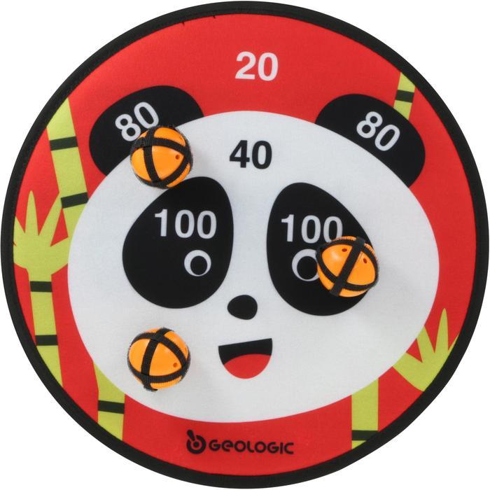 Klett-Zielscheibe Panda Wurfspiel