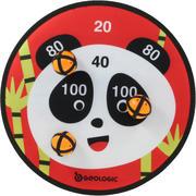 Tarča s kroglicami na ježek s potiskom pande