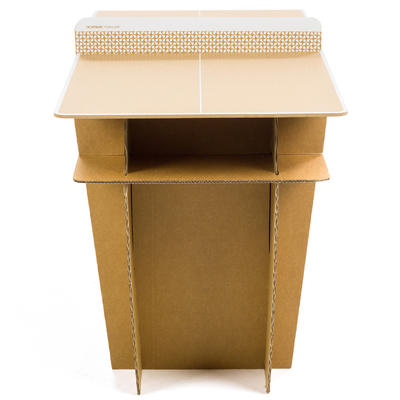 שולחן פינג פונג קטן דגם 100 למשחק חופשי בתוך הבית