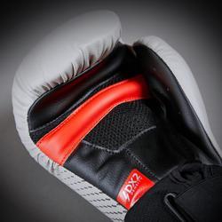 Bokshandschoenen 500 Ergo grijs, geschikt voor gevorderden