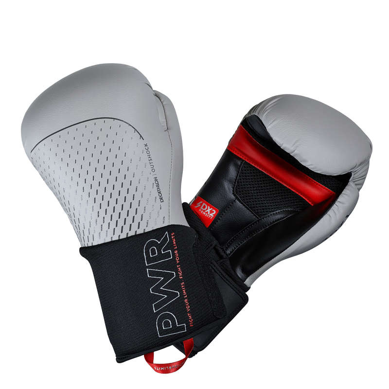 ROKAVICE ZA BOKS Naglavni dodatki, rokavice in nogavice - Boksarske rokavice 500 ERGO OUTSHOCK - Rokavice