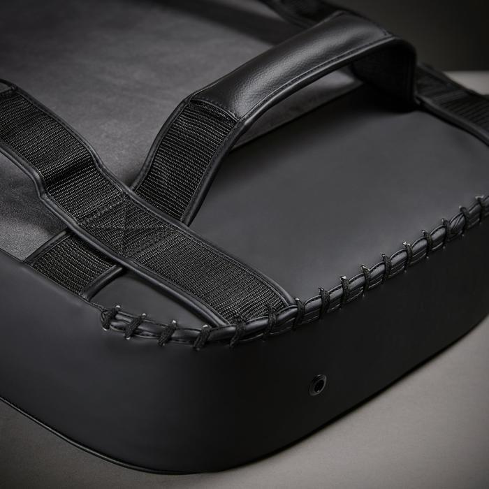 Schlagpolster 500 gebogen schwarz