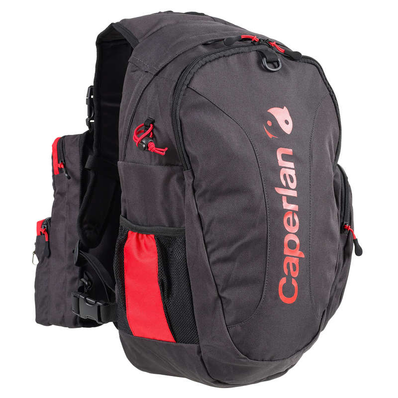 BAGS Fishing - COMPLETE FISH. CHEST PACK GREY CAPERLAN - Fishing