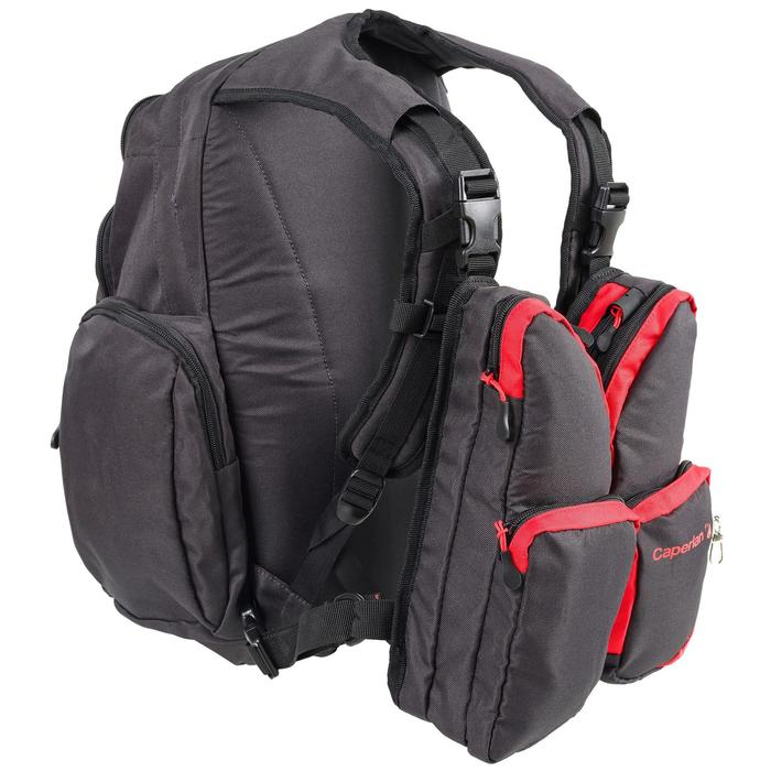 Chest pack complete pesca Dark Grey