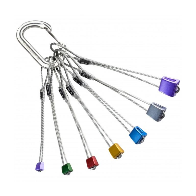 Climbing and mountaineering stopper kit - Stopper Set Classic #5-11