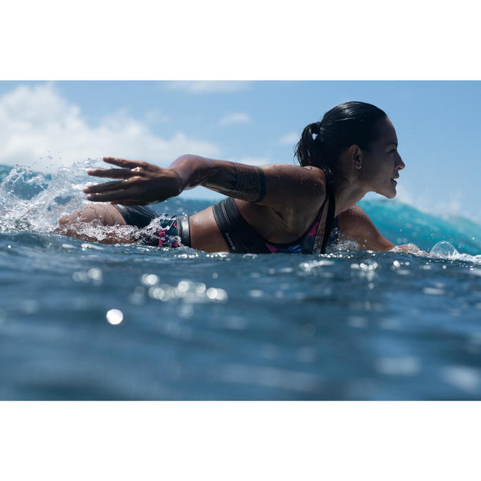 Bikini-Oberteil Bustier Ana Foamy Surfen Damen