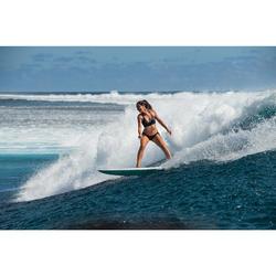 BRAGUITA BRASILEÑA DE SURF SANA MUJER NEGRO