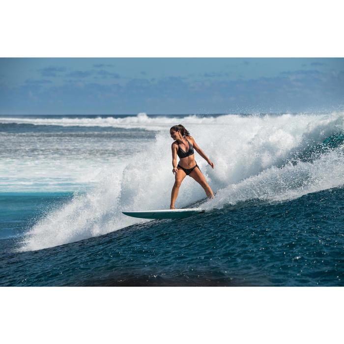 Braziliaans bikinibroekje Sana voor surfen, zwart