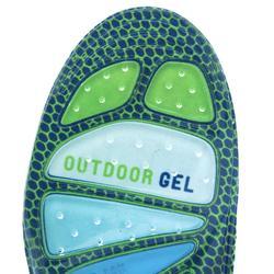 Plantilla Montaña Trekking Sidas Gel Outdoor Verde/Azul/Gris