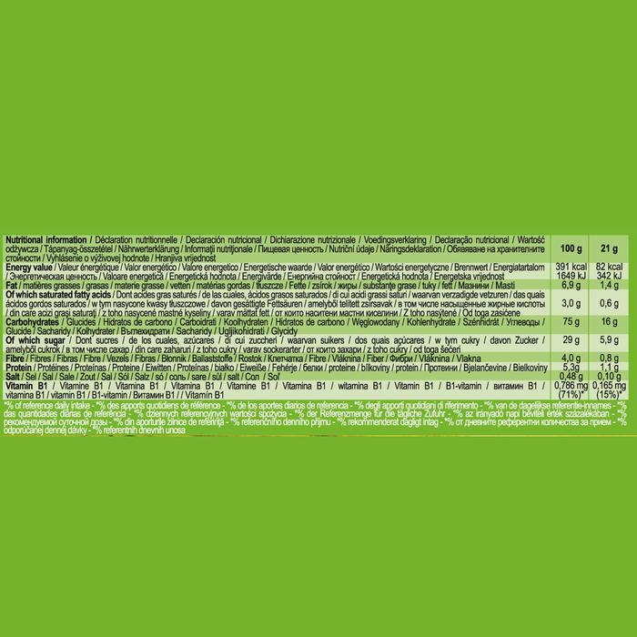 Barre de Céréales CLAK Pomme 6 x 21g