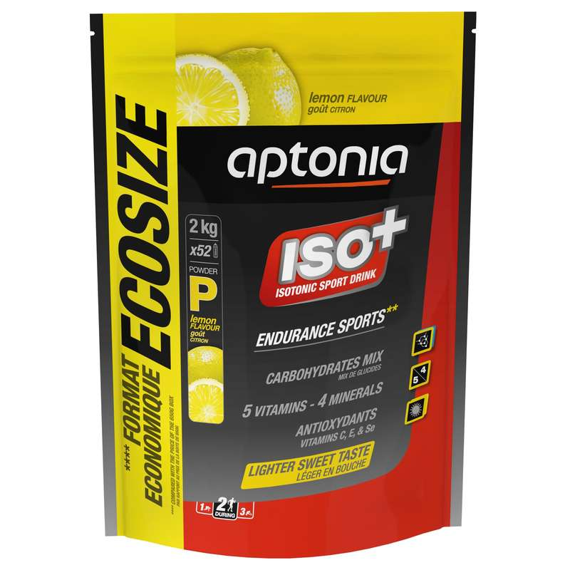 HYDRATION & BEFORE Triathlon - Iso+ Powder 2 kg - Lemon APTONIA - Triathlon Nutrition and Hydration