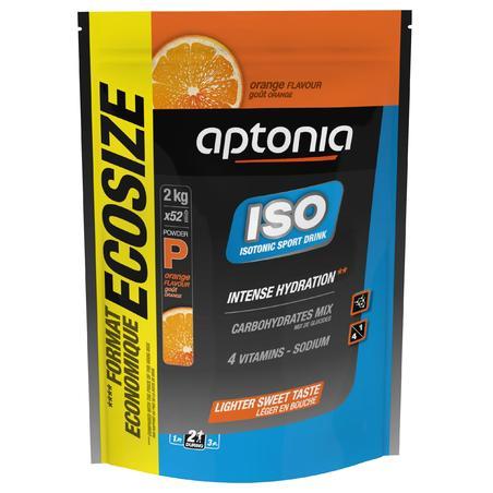 """Izotoniska dzēriena pulveris """"Iso"""", 2 kg, ar apelsīnu garšu"""