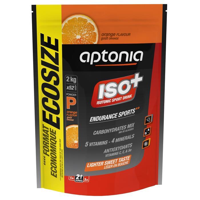 Poeder voor isotone dorstlesser ISO+ sinaas 2 kg