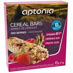 Barrita de cereales CLAK frutos rojos 6 x 21 g