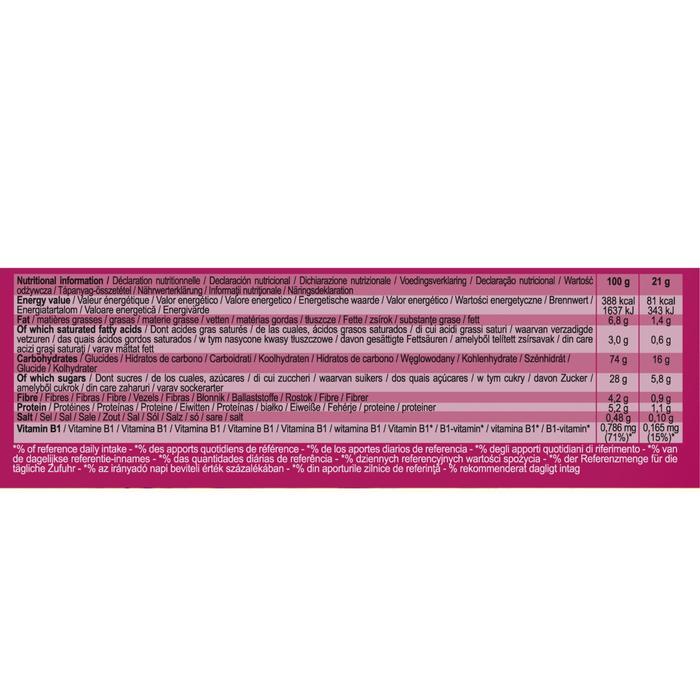 Müsliriegel Clak rote Früchte 6 x 21 g