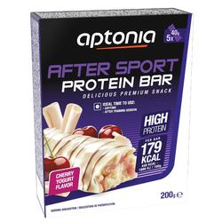 Barrita Proteica Triatlón Aptonia After Sport Cereza Yogur 5 X 40 G