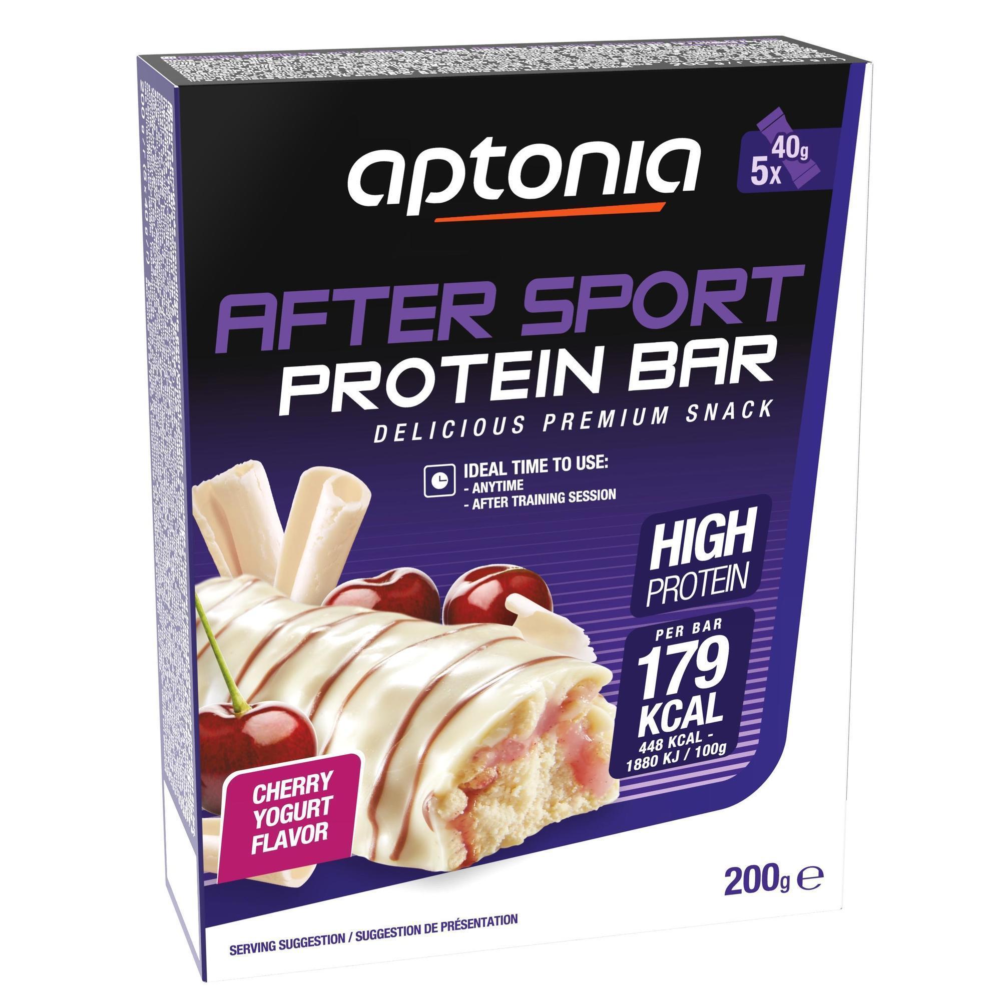 Proteinriegel Eiweißriegel After Sport Kirsche/Joghurt 5 × 40 g