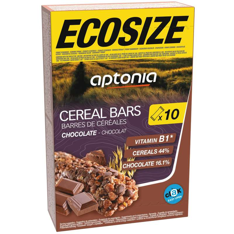 BARS, GELS & AFTER - Cereal bars Chocolate 10x21g APTONIA
