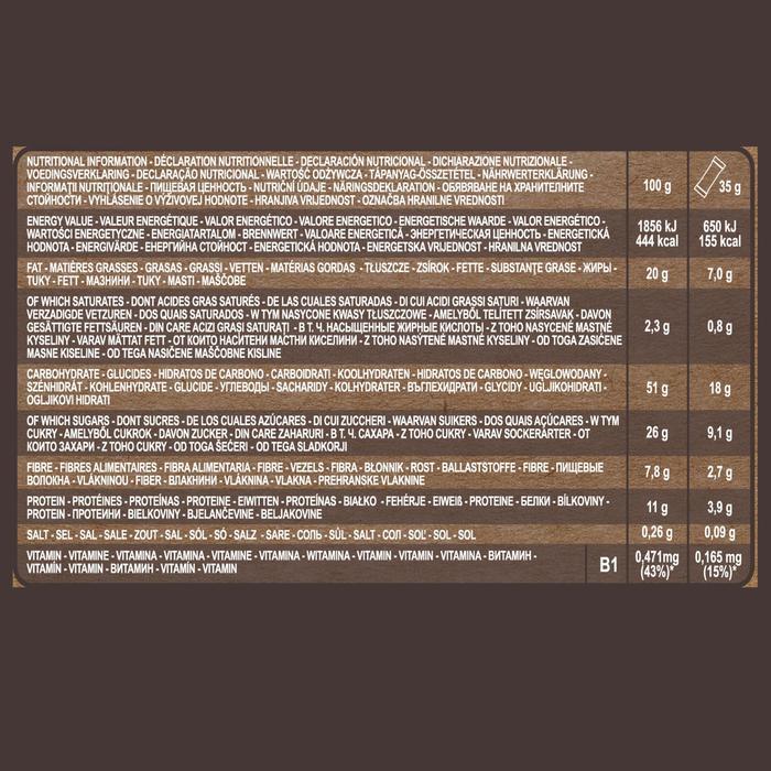 Glutenvrije graanrepen met gedroogde vruchten 3x 35 g