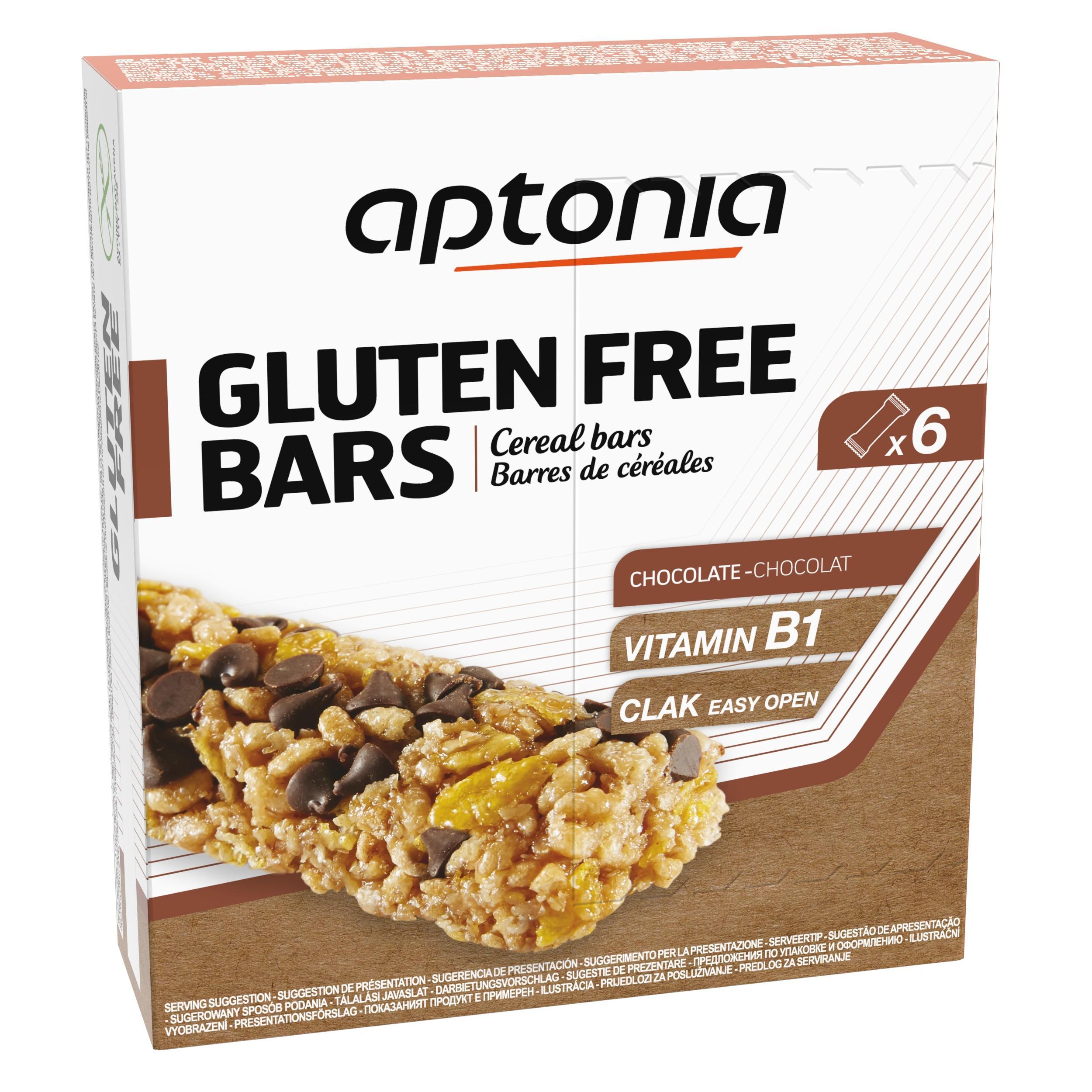 Aptonia Glutenvrije graanrepen chocolade 6x25g kopen? Sport>Sportvoeding & sportdrank>Sportvoeding tijdens inspanning met voordeel vind je hier