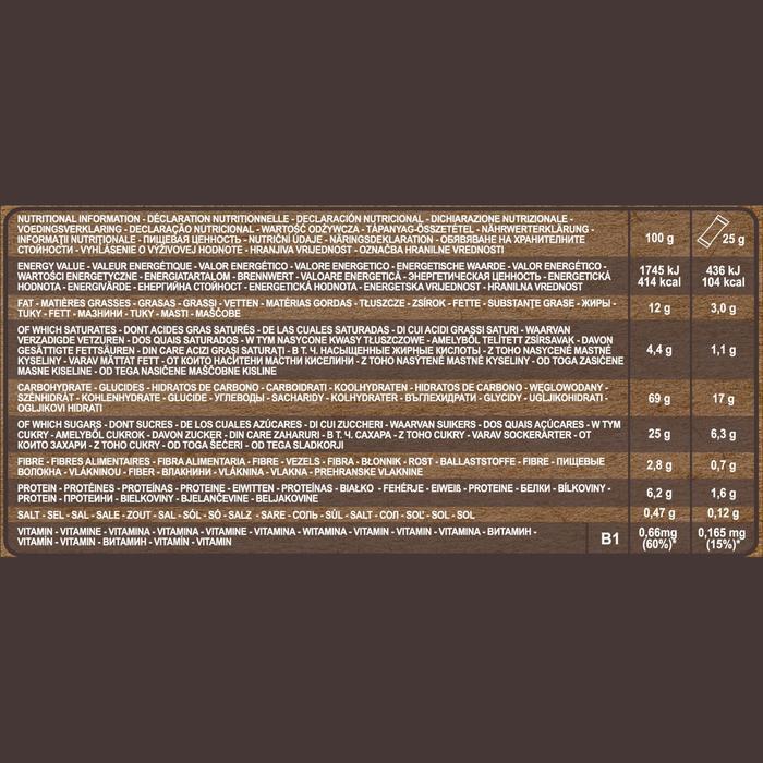 Barrita de cereales SIN GLUTEN de chocolate 6 x 25 g