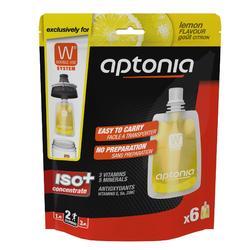 Isotone sportdrank zakjes Iso+ citroen 6x 43ml