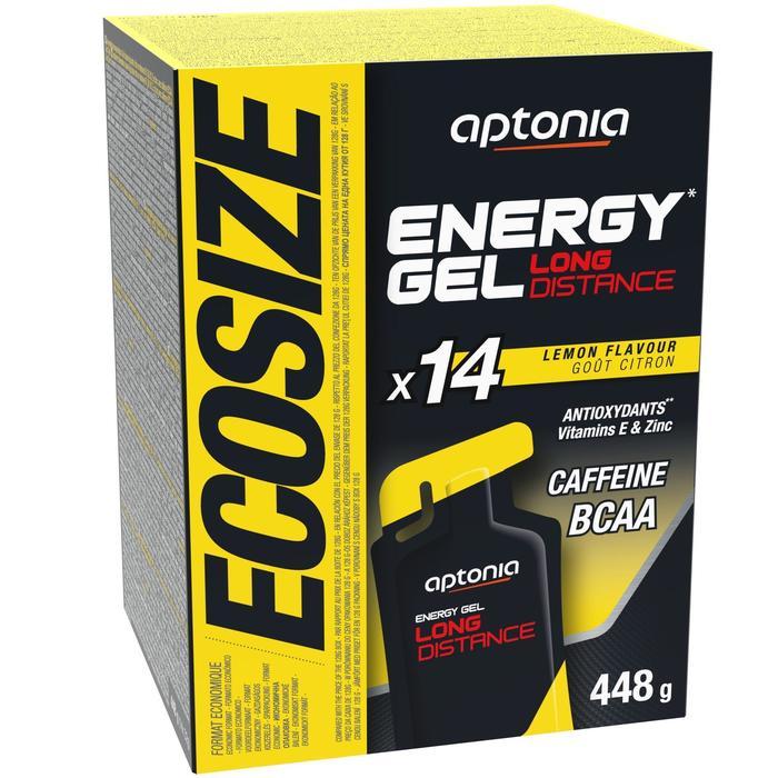 Gel Energético Triatlón Aptonia Ecosize Energy Gel Long Distance Limón 14 x 32 G