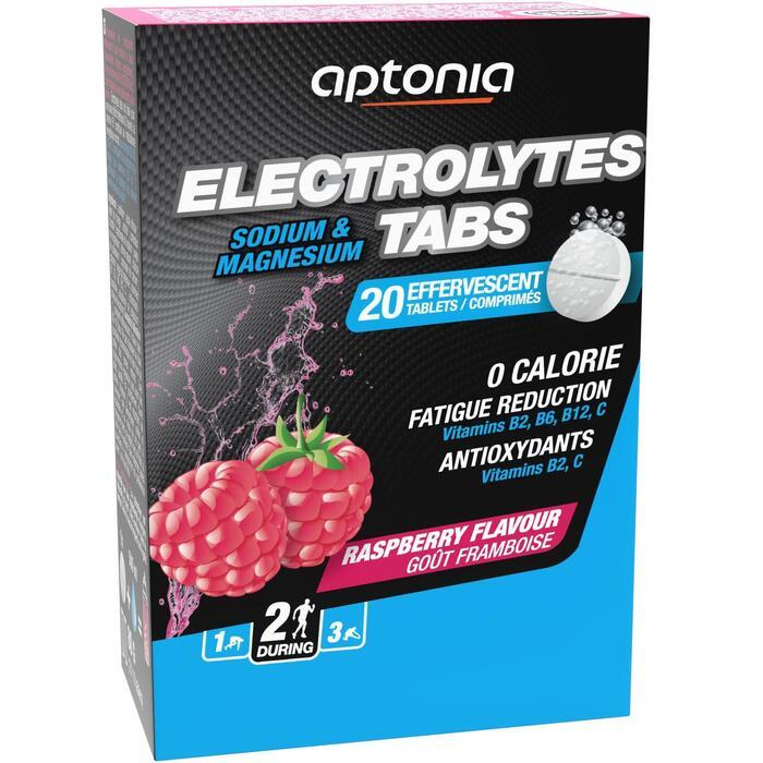 Bebida electrólitos 0 calorías tabletas frutos rojos 20 x 4g