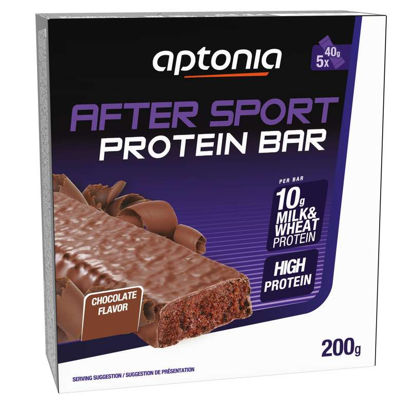 BARS, GELS & AFTER Boxing - PROTEIN BAR 5X40 G CHOCOLATE APTONIA - Boxing Nutrition