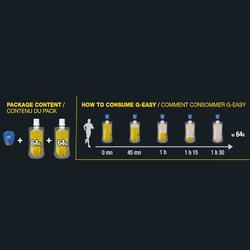 Complément alimentaire Energy gel G-Easy longue distance citron 2 x 64 g