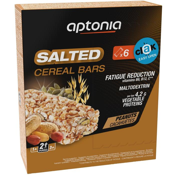 Barrita Cereales Triatlón Aptonia Salted Cereal Bar 6 X 35 G