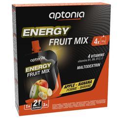 Gel Energético Compota Frutas Triatlón Aptonia 4x90 G Manzana Plátano