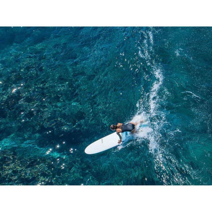 MAILLOT DE BAIN DE SURF 1 PIECE FEMME DOS X ISA NOIR