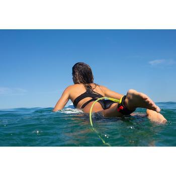 Haut de maillot de bain femme brassière de surf ANA NOIRE