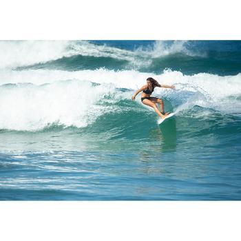 Bikinibroekje voor surfen Vali zwart aantrekkoordje