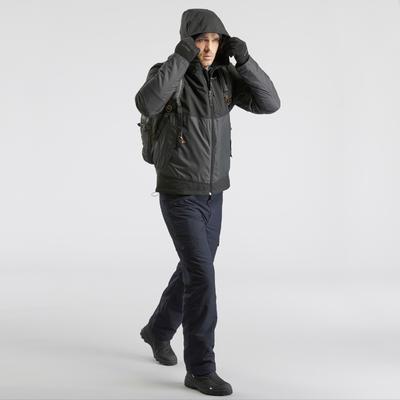 Men's Warm Waterproof Snow Hiking Jacket - SH100 X-WARM.