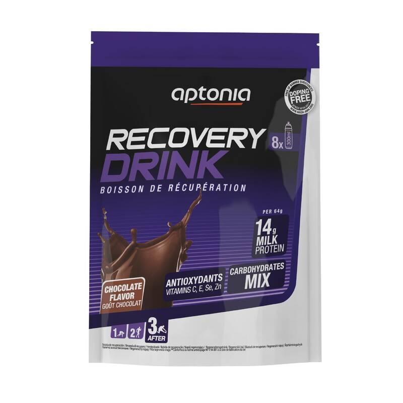TYČINKY, GELY PO SPORTU Hydratace - RECOVERY DRINK ČOKOLÁDA 512 g APTONIA - Hydratace