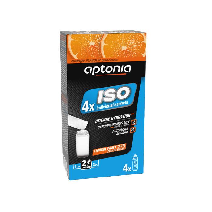 Poeder voor isotone dorstlesser sinaas 4x38 g