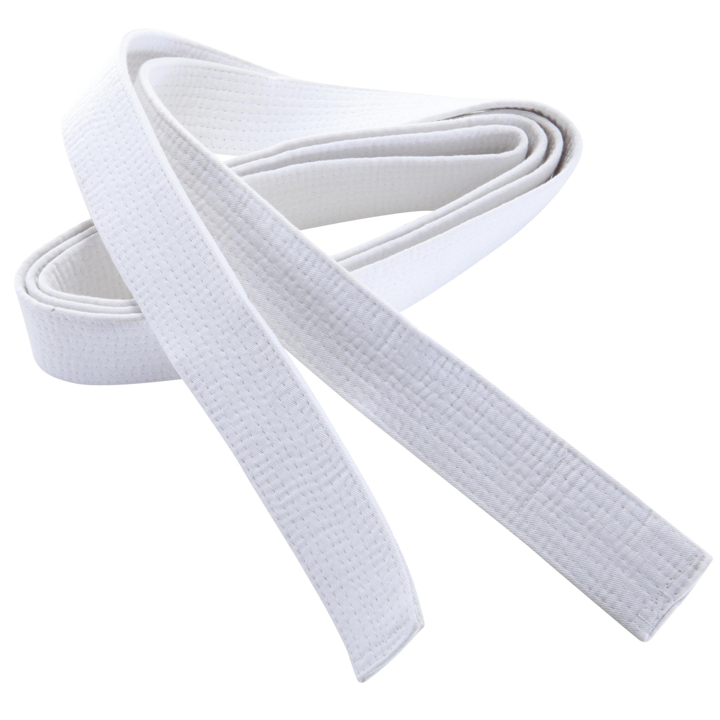 Outshock Judoband / Karateband 2,50 m, wit