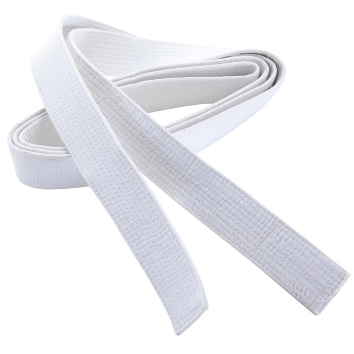 Judoband / Karateband 2,50 m, wit