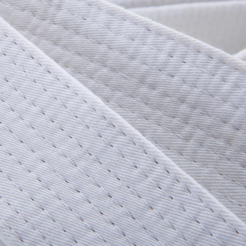 2.5m Piqué Belt - White