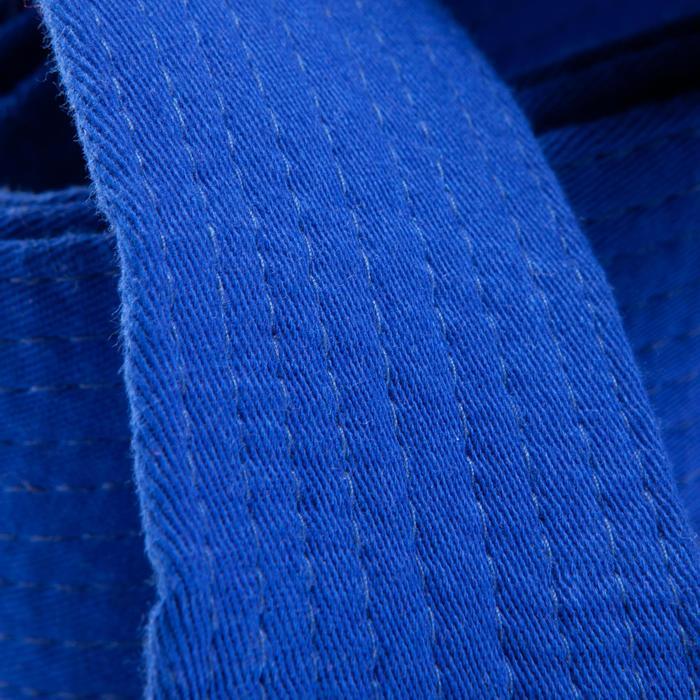 Judoband / Karateband 2,50 m, blauw
