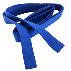Band voor martial arts piqué 2,5 meter blauw