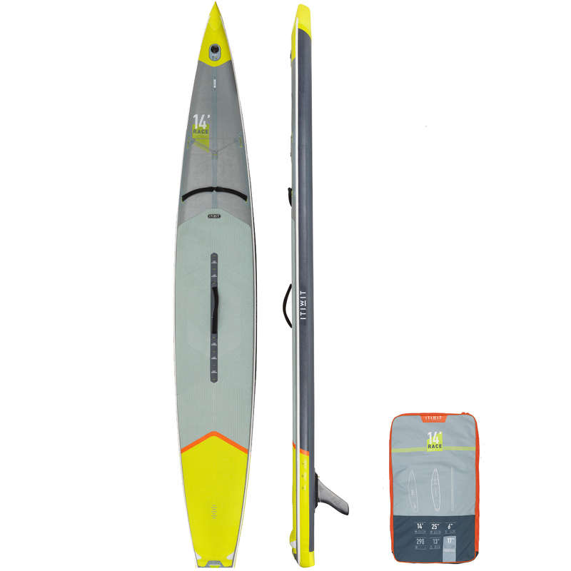 Pranchas SUP Race Stand up paddle, SUP - SUP RACE INSUFLÁVEL R500 14' ITIWIT - Stand up paddle, SUP