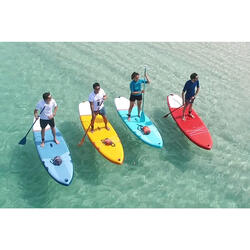 Opblaasbaar touring supboard voor beginners 10 feet groen
