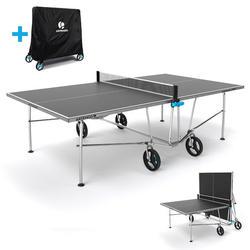 TABLE DE TENNIS DE TABLE FREE PPT 500 LTD OUTDOOR (HOUSSE INCLUE)