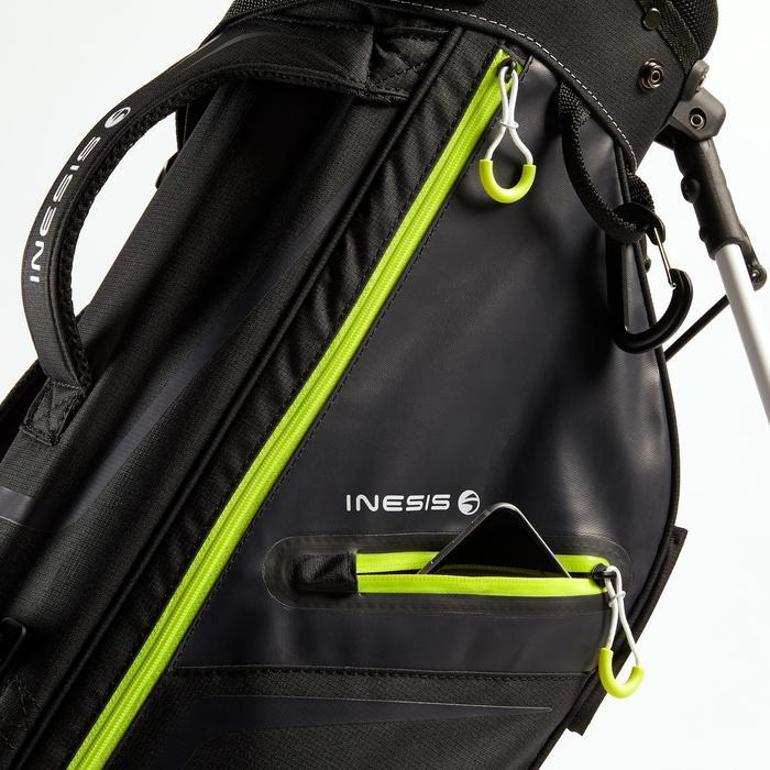Golf Standbag ultralight schwarz