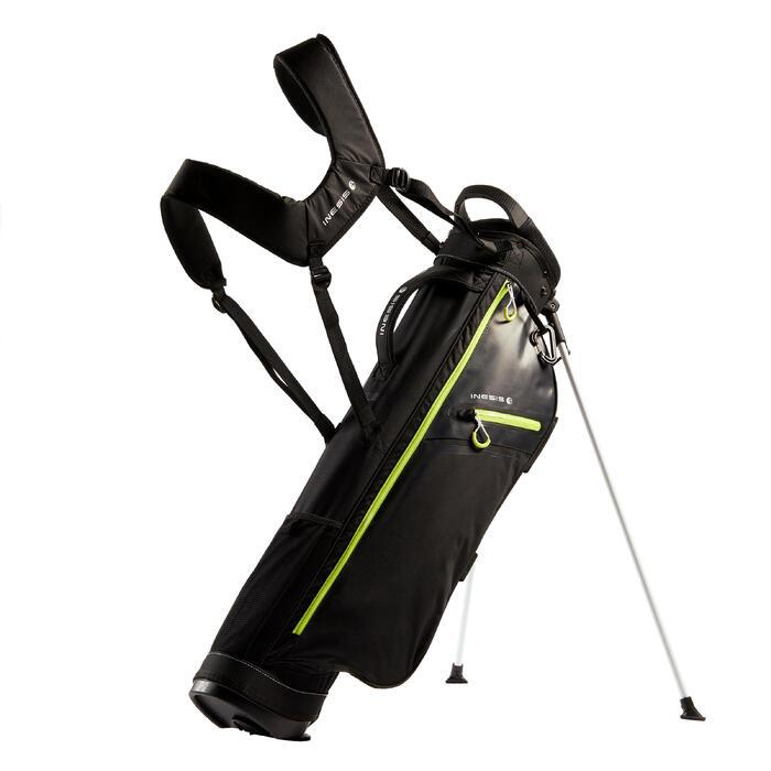 Standbag voor golf Ultralight zwart