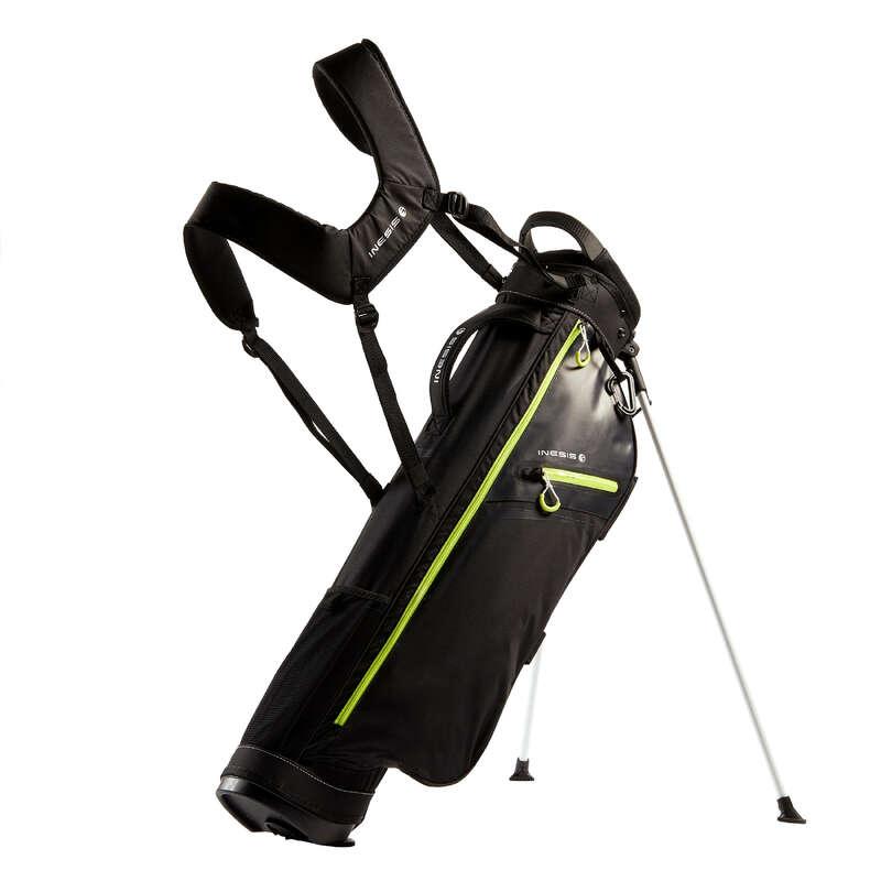 SACCHE GOLF LIGHT Golf - Sacca treppiede ULTRALIGHT nera INESIS - Golf