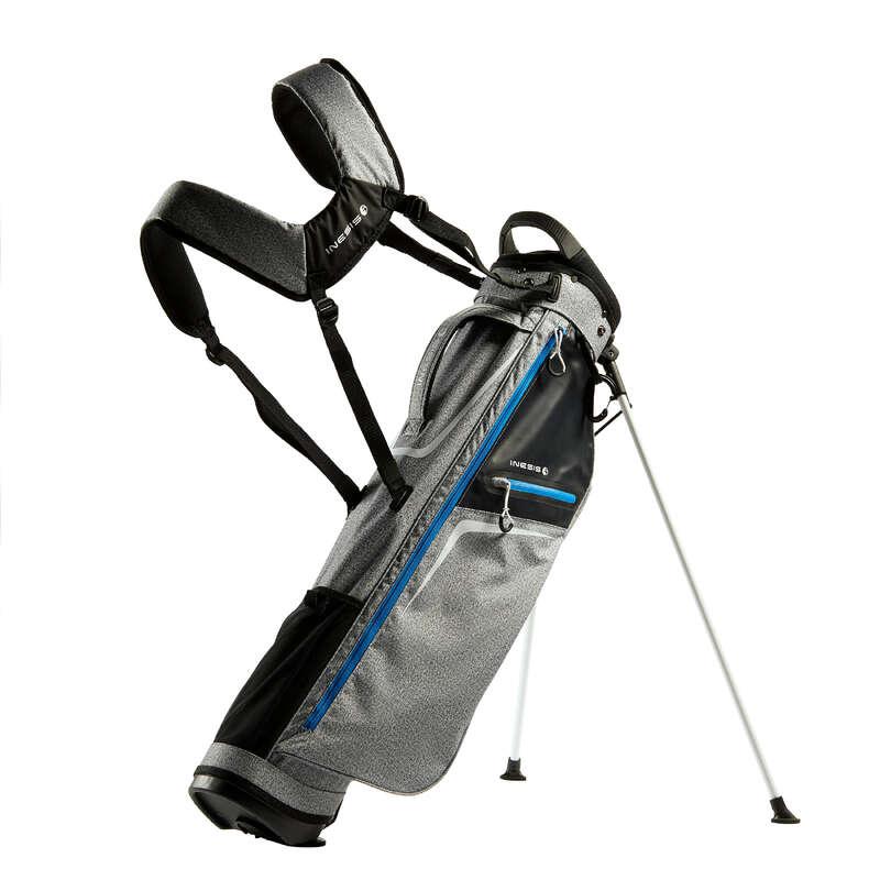 GOLFVÄSKOR NYBÖRJARE Golf - Bärbag GBA ULS A grå INESIS - Golf